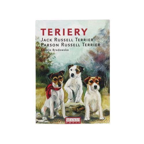 """Książka """"Terriery. Jack Russell Terrier, Parson Russell Terrier"""", wyd. Mako Press 1szt."""