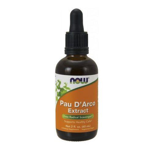 Granulat Now Foods Pau D'Arco (LaPacho) Extract 60ml