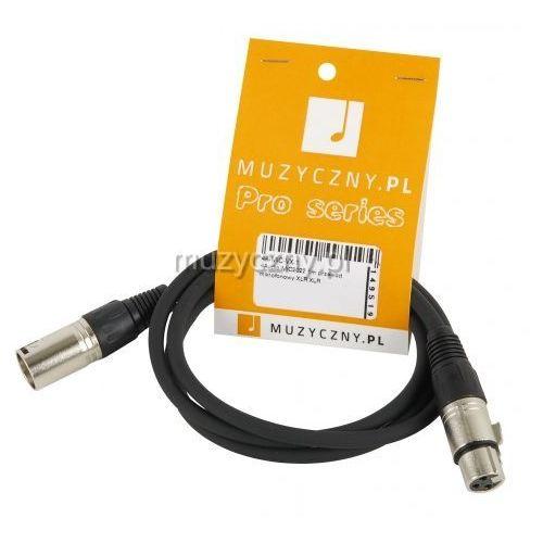 mic 1m przewód mikrofonowy xlr-f - xlr-m marki 4audio