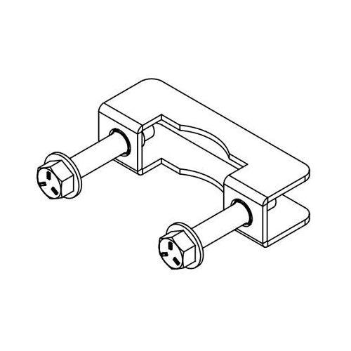 Produkt z kategorii- uchwyty i ramiona do tv - Mocowanie klamra do montażu uchwytu TV - CHIEF TPK2