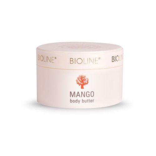 Bioline masło z do ciała pestkami mango 200ml marki Bioline sp. z o.o.
