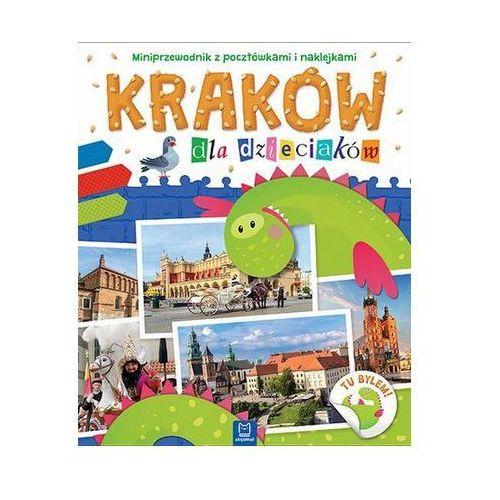 Praca zbiorowa Kraków dla dzieciaków miniprzewodnik z pocztówkami i naklejkami -