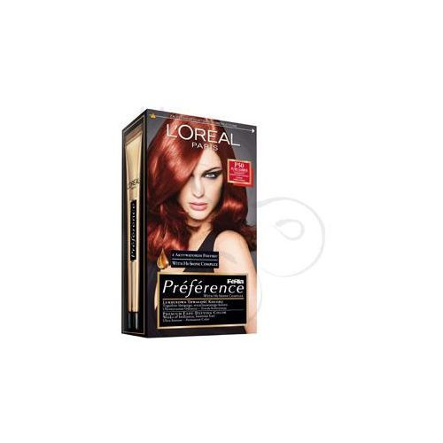 Feria Preference farba do włosów P50 Pure Amber Intensywny bursztynowy kasztan, L'Oreal Paris
