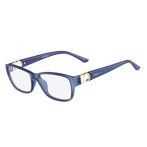 Okulary korekcyjne sf 2666r 414 marki Salvatore ferragamo