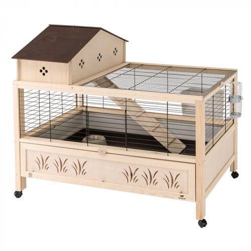 Ferplast Arena 100 Plus klatka dla świnki, królika z wyposażeniem