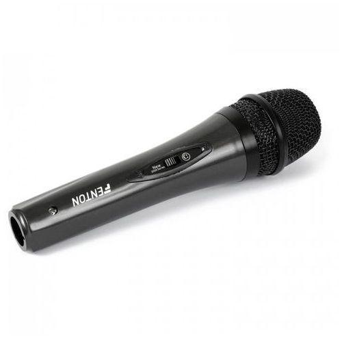 Dynamiczny mikrofon ręczny Skytec czarny, z kablem 4 m