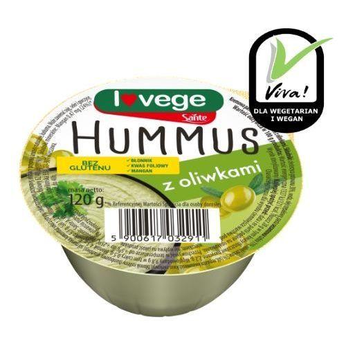 Hummus z oliwkami 120g Sante