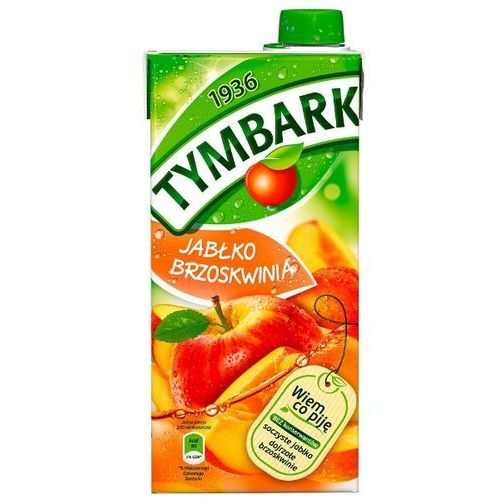 Tymbark 1l jabłko-brzoskwinia napój (5900334000149)
