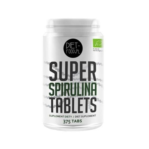 Diet-food Diet food 375szt super spirulina w tabletkach bio suplement diety