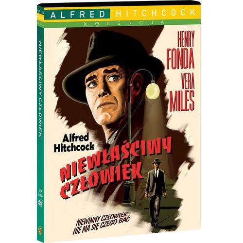 Niewłaściwy człowiek (DVD) - Alfred Hitchcock OD 24,99zł DARMOWA DOSTAWA KIOSK RUCHU (7321910010655)
