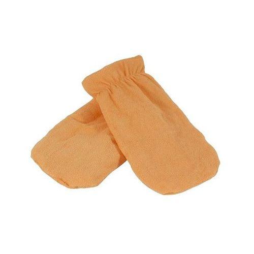 Rękawica kosmetyczna frotte morelowy 1 para, 8