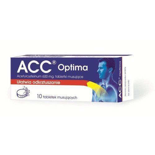 ACC OPTIMA 10 tabletek musujących (na kaszel)