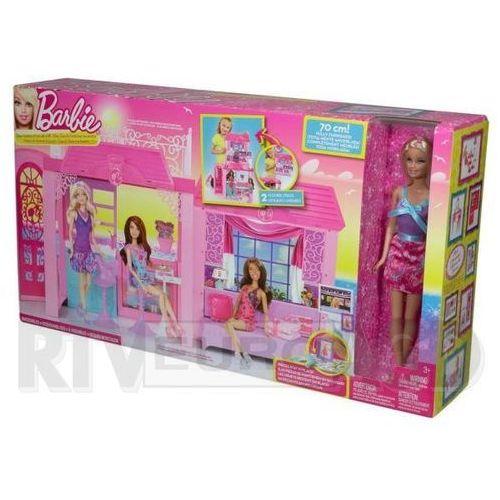 Barbie - Domek z Akcesoriami i Lalką, Mattel z RTV EURO AGD
