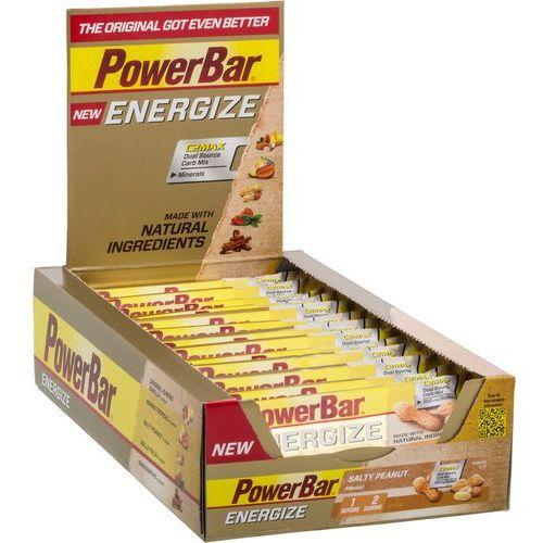 PowerBar New Energize Żywność dla sportowców Salty Peanut 25 x 55g 2018 Batony i żele energetyczne (4029679670075)