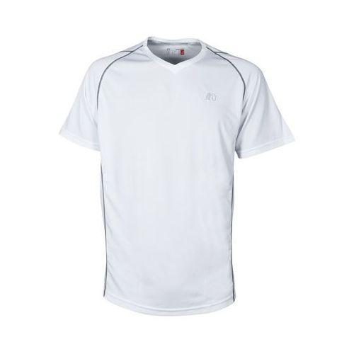 Męska koszulka do biegania base coolskin tee, czarny, xl marki Newline