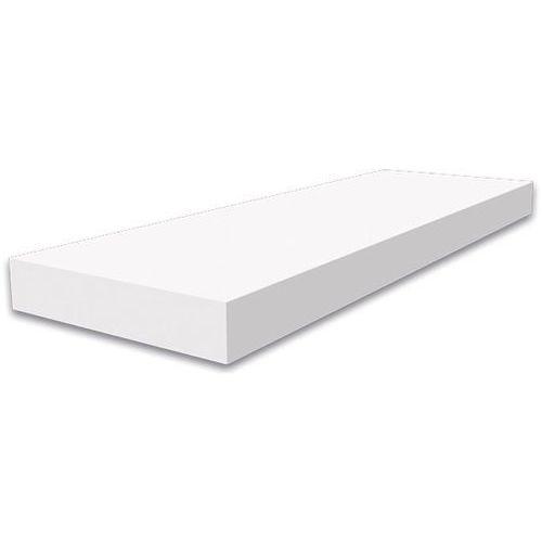 Półka samowisząca, biały, 600x250x40mm - sprawdź w Praktiker