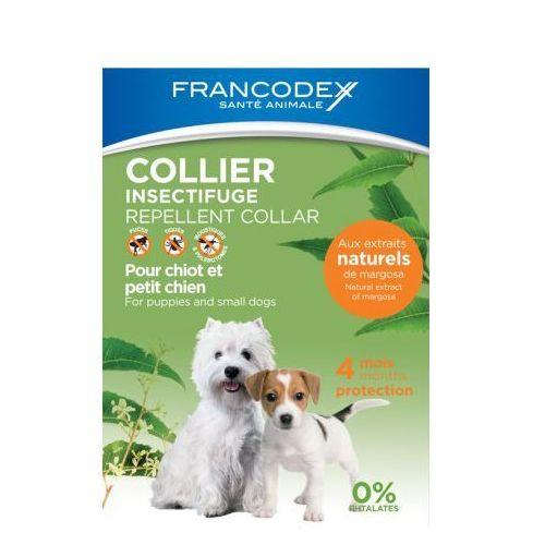 FRANCODEX Obroża przeciw insektom dla szczeniąt i psów do 10 kg, Francodex