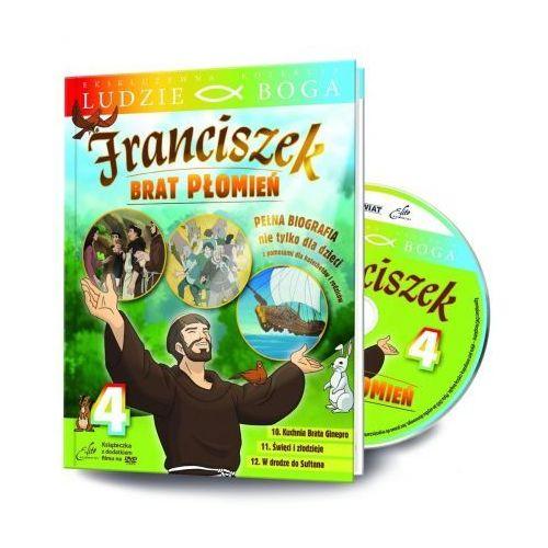 Rafael Ludzie boga. św. franciszek. brat płomień cz.4 dvd (9788365405128)