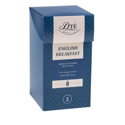 Diemme English Breakfast 12 torebek, 1337
