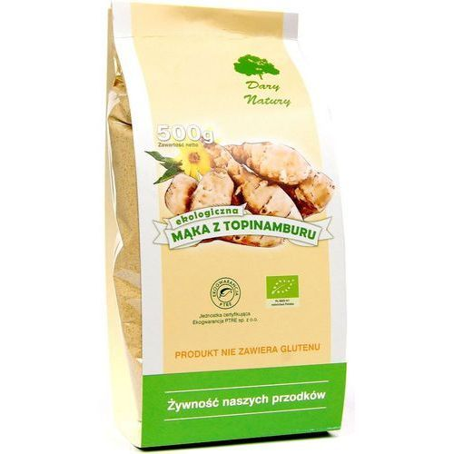 Mąka z topinamburu bio 500g marki Dary natury