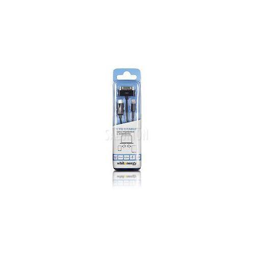 Kabel do przesyłu danych, wtyczka USB 2.0 na micro USB /iPhone4/iPhone5, czarny - oferta (258c4c74c7a51481)