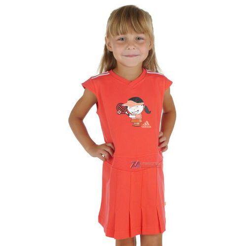 Sukienka tunika Adidas IG Q2 Katja dre dla dziewczynki (sukienka dziecięca)