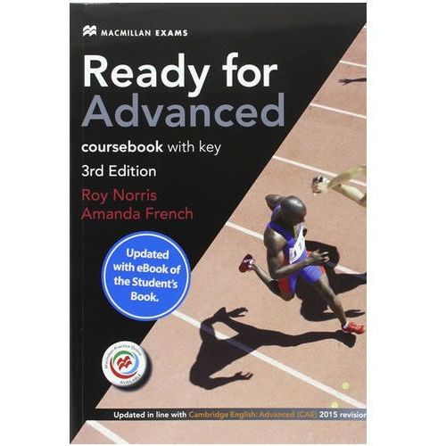 Ready for Advanced (CAE) (3rd Ed) Student´s Book & Key, Macmillan Practice Online, Online Audio & eBook French, Amanda (2017)