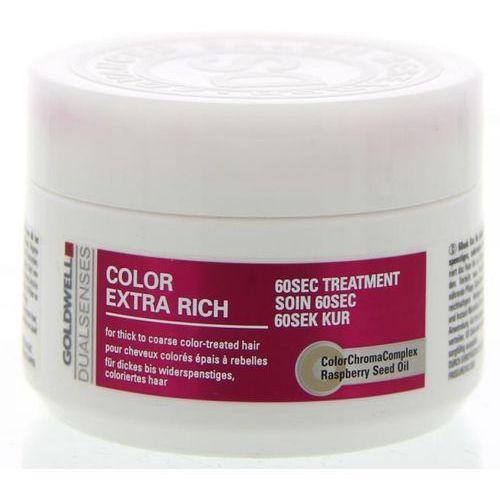 Goldwell dualsenses color extra rich 60 sec treatment 200ml w maska do włosów