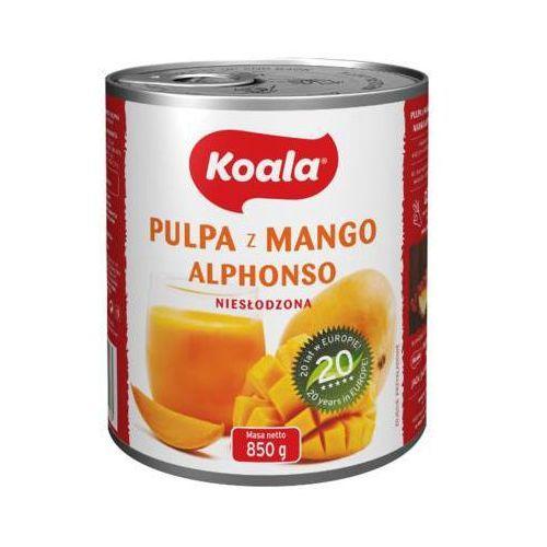 Koala 850g pulpa z mango alphonso niesłodzona