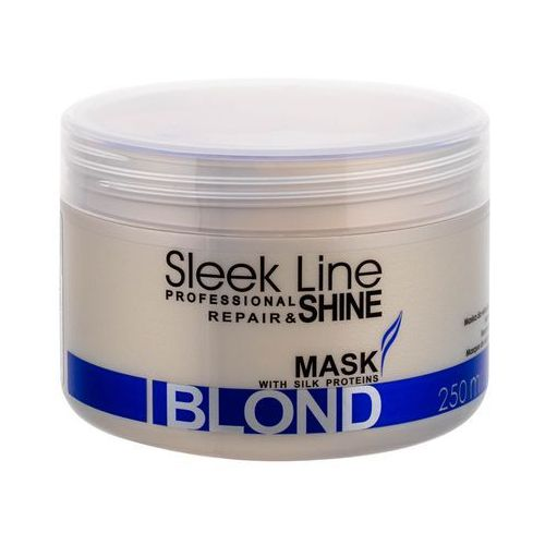 Stapiz sleek line blond maseczka do blond i siwych włosów (special formula provides hair with platinum tint) 250 ml