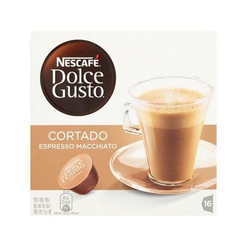 Nescafe 16 kapsułek dolce gusto cortado espresso macchiato kawa w kapsułkach marki Nestle