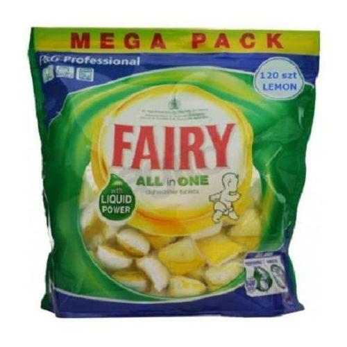 FAIRY Kapsułki do zmywarek all in 1 lemon 120szt. - produkt z kategorii- kostki do zmywarek