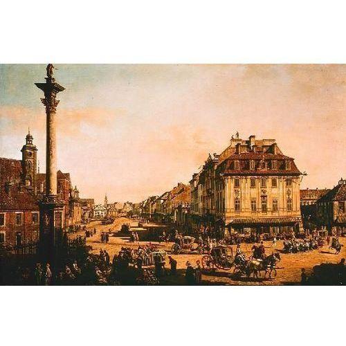 obraz Krakowskie Przedmieście od strony kolumny Zygmunta - Bernardo Bellotto Canaletto (obraz)