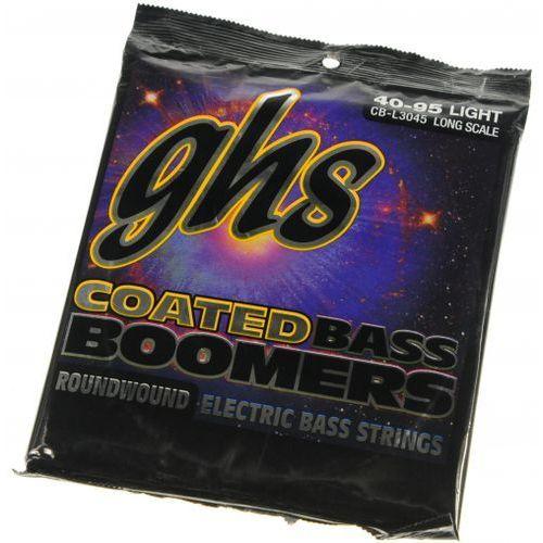 GHS Coated Boomers Set struny do gitary basowej 40-95