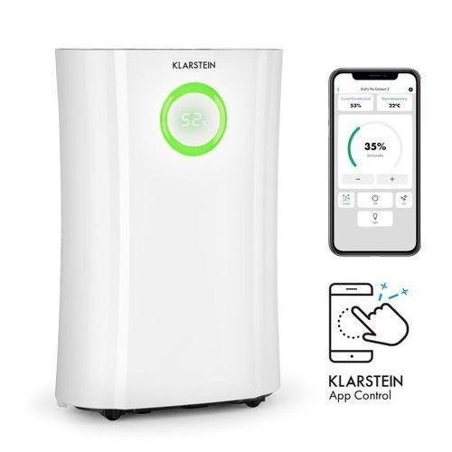 dryfy pro connect, osuszacz powietrza, wi-fi, kompresja, 20 l/24 h, 20 m2, 370 w, kolor biały marki Klarstein