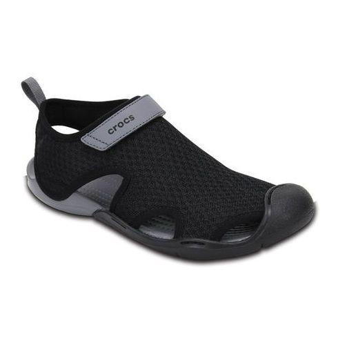 Crocs Buty swiftwater sandal 204597 black - czarny