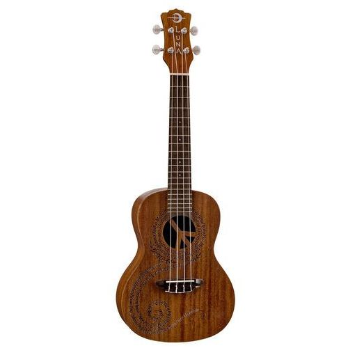 uke maluhia peace - ukulele koncertowe marki Luna
