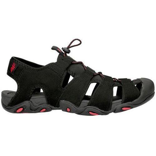 Męskie sandały trekkingowe sam003 - czarny, 4f, 40-46