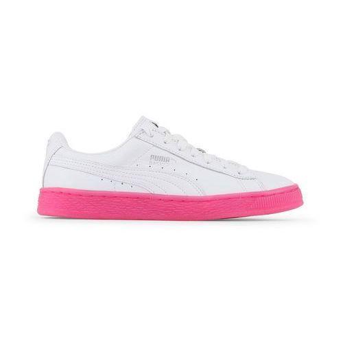 Buty damskie sneakersy basket classic 363117-01 białe marki Puma