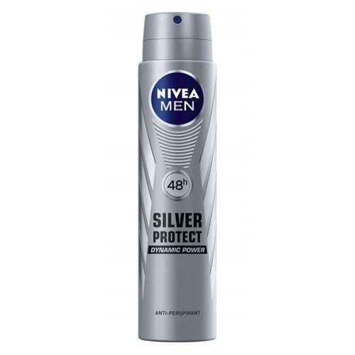 Nivea for Men Silver Protect Dynamic Power, 250ml. Dezodorant spray - Nivea OD 24,99zł DARMOWA DOSTAWA KIOSK RUCHU, 4005808736874