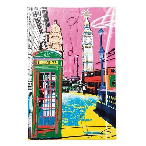 Kare design :: Obraz Pop Art Cities 60x40cm - wzór2 (60x40) (obraz)