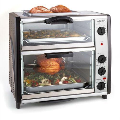 OneConcept All-You-Can-Eat podwójny piekarnik z płytą grillową 2400 W42 L (4260365799100)