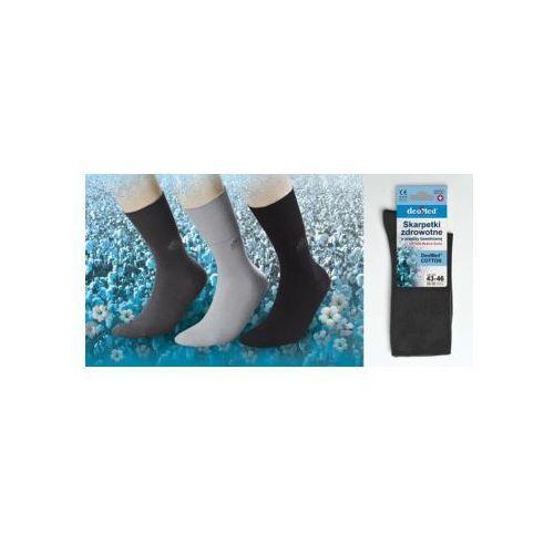 Skarpety bawełniane zdrowotne antyzapachowe - 4 kolory
