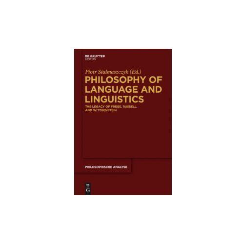Philosophy of Language and Linguistics