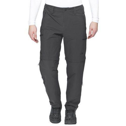 The North Face EXPLORATION Spodnie materiałowe asphalt grey, nylon