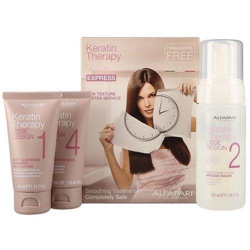 keratin therapy smoothing treatment kit | zestaw do keratynowego prostowania włosów marki Alfaparf