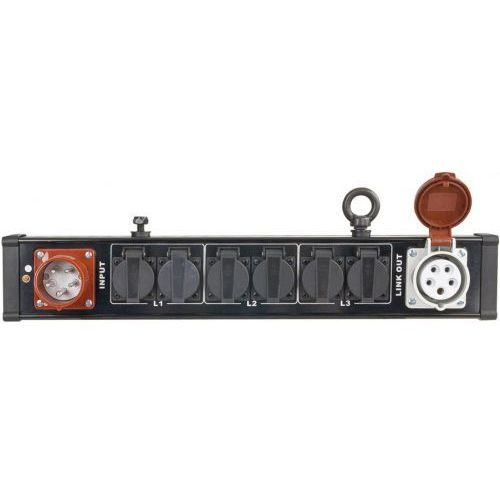 breakoutbar 4 - dystrybutor 16a 5p (in/out) => 6 x 230v marki Showtec