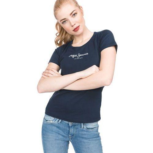 Pepe jeans new virginia t-shirt niebieski xs