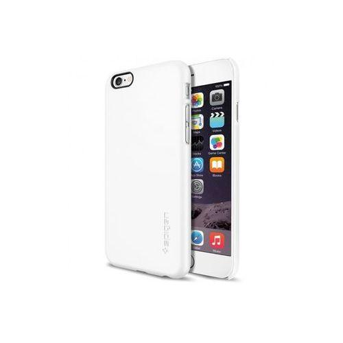 Apple iPhone 6s - etui na telefon Spigen Thin Fit - Shimmery White, ETAP230SGTFWHT000