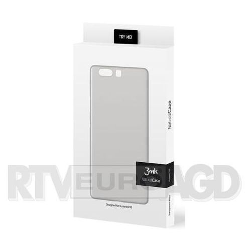 3mk natural case huawei p10 (biały) (5901571123813)